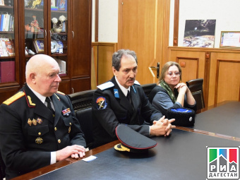 Татьяна Гамалей встретилась с  казачьим генералом Нариманом Тарагачевым