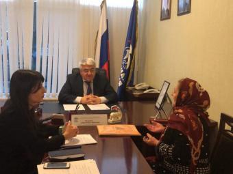 Восемь обращений граждан рассмотрел депутат Госдумы Абдулмажид Маграмов