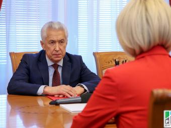 Владимир Васильев и Виктория Абрамченко обсудили вопросы развития земельно-имущественного комплекса Дагестана