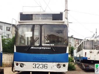 Правительство Москвы выделило столице Дагестана 15 троллейбусов