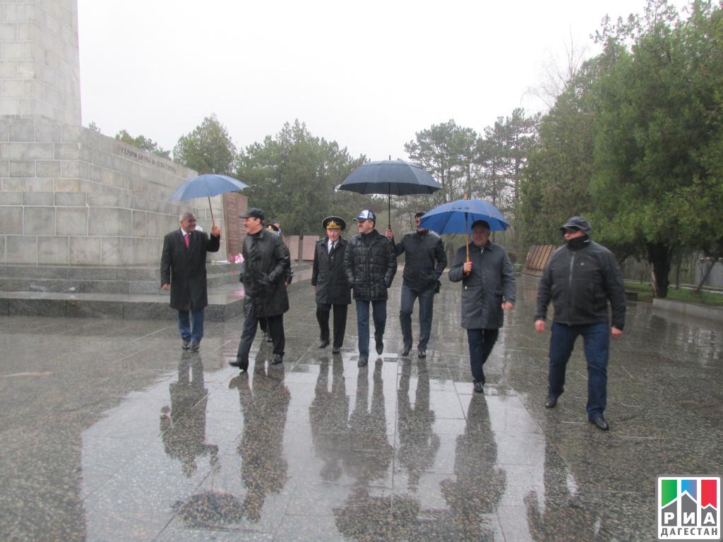 Абдулатипов и Евкуров съездили на «Сапун-Гору»