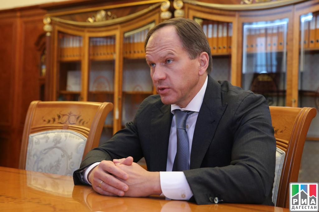 Владимир Васильев иЛев Кузнецов обсудили социально-экономическое развитие Дагестана