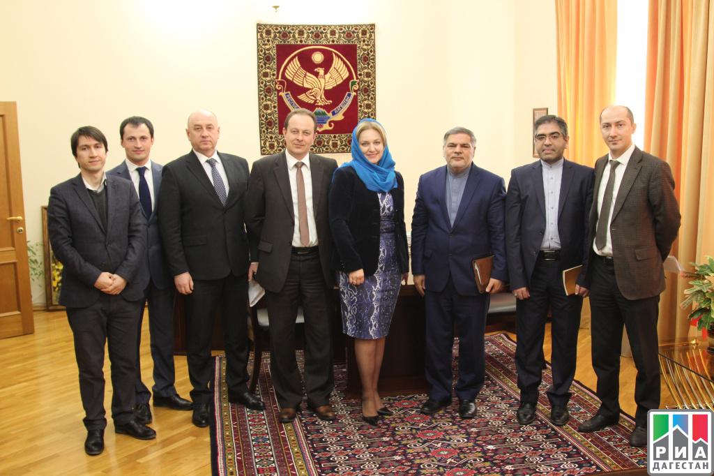 Иран иДагестан: сотрудничество продолжается
