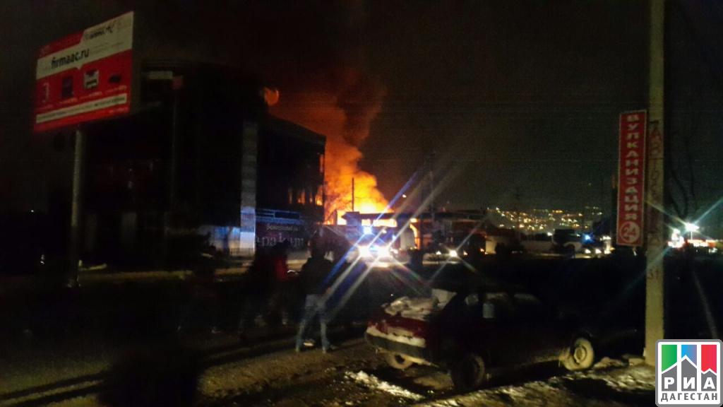 НаАЗС вмахачкалинской Пальмире произошел взрыв