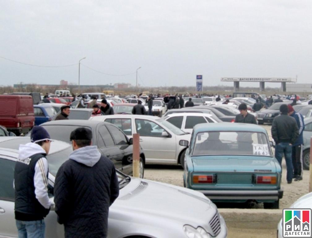 Соседствующий складбищем рынок автомобилей Махачкалы переедет вдругое место