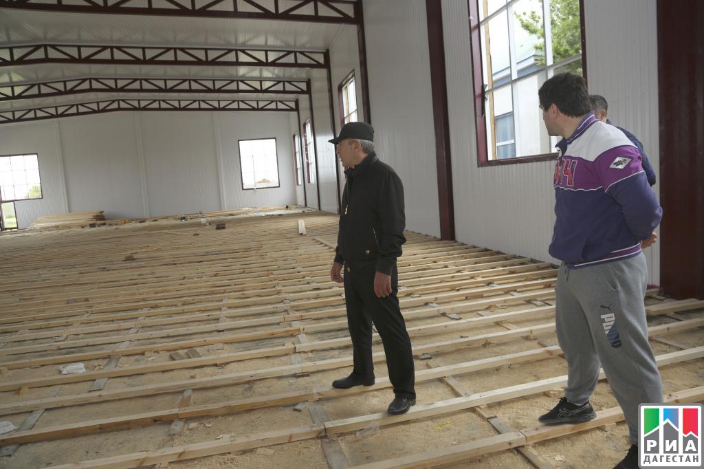 ВДагестане строят Центр олимпийской подготовки