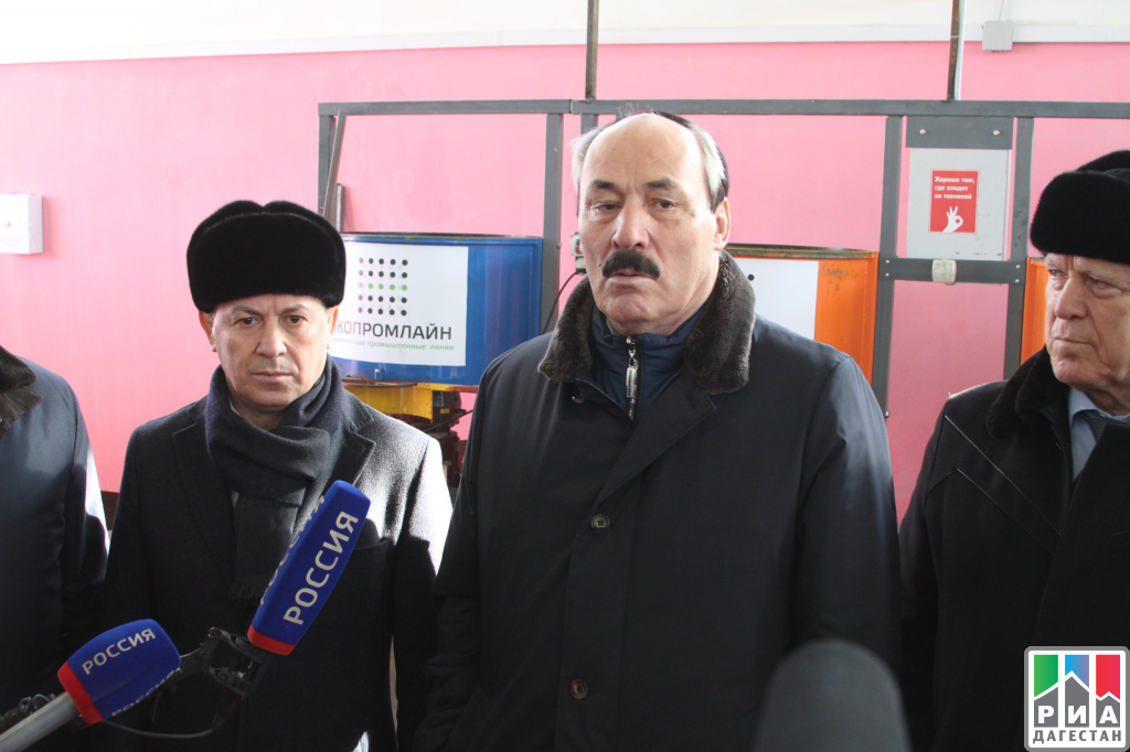 ВМахачкале открылся завод попереработке шин