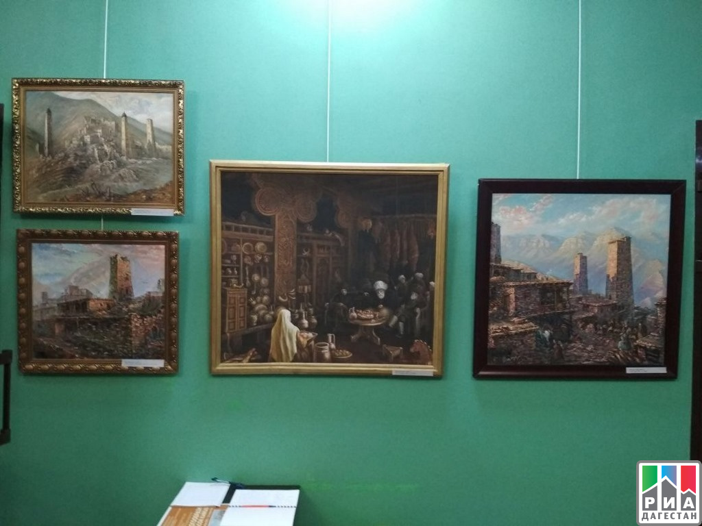 ВГрозном открылась выставка картин дагестанских живописцев