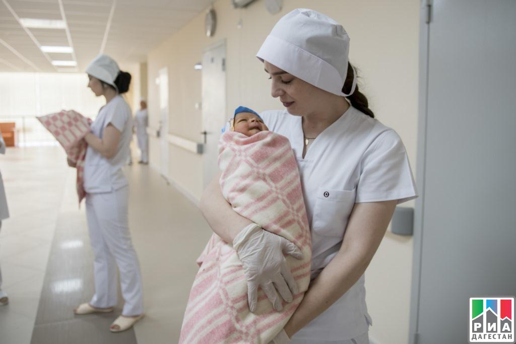 ВМахачкале за100 дней работы перинатального центра родилось 813 детей