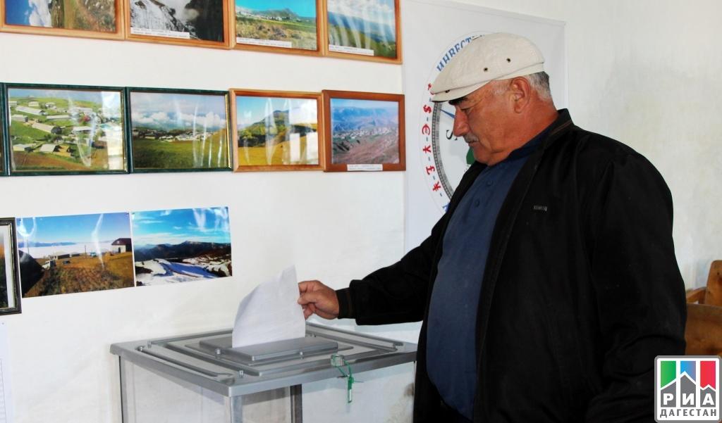 ВДагестане не18:00 проголосовали около 68% избирателей