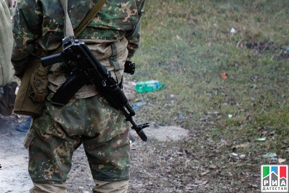 В стрельбе вДагестане устранили 2-х боевиков