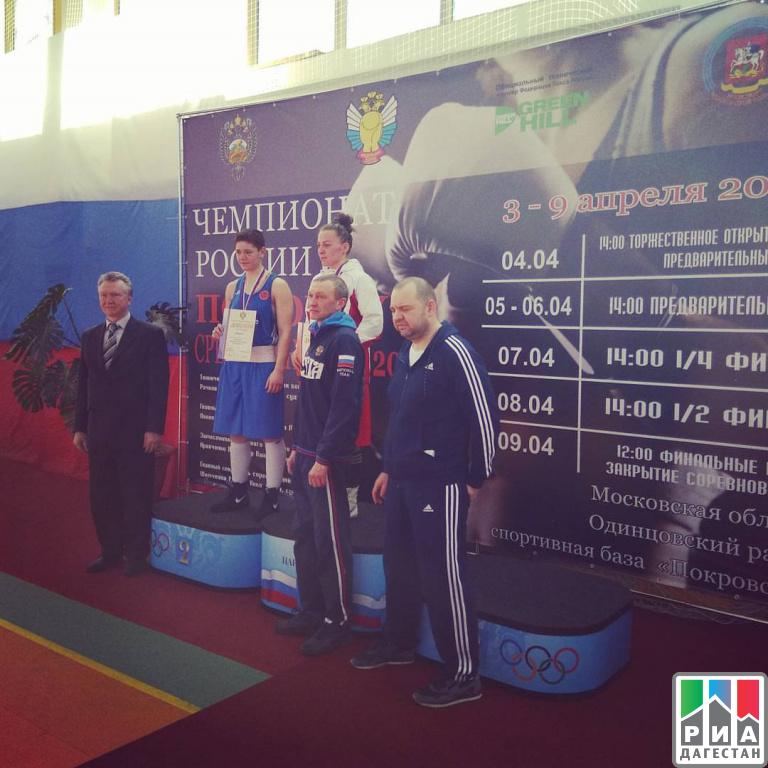 Дагестанка Саадат Далгатова стала чемпионкой Российской Федерации побоксу