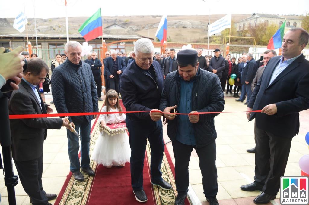 ВБуйнакском районе Дагестана открыли новый детский парк