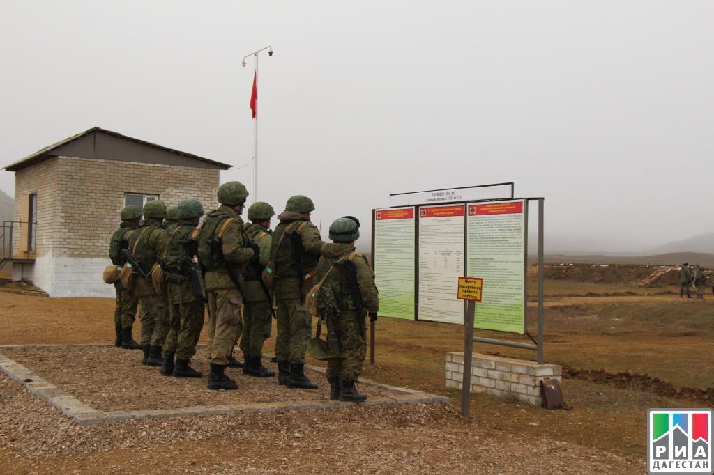 ВДагестане прошли учения морской пехоты Каспийской флотилии
