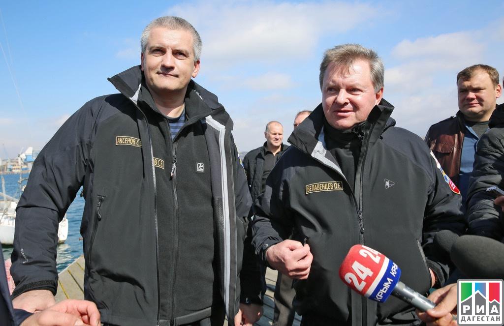 Яхта руководителя Ингушетии одолела впарусной регате вКрыму