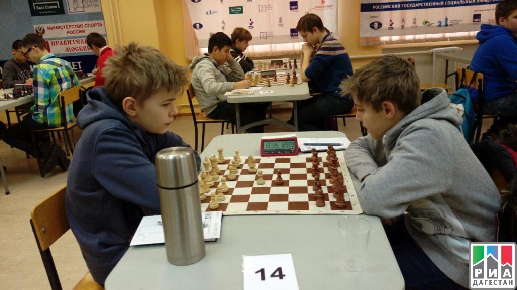 Дагестанский шахматист Джабраил Камаев одержал победу представительный международный турнир в столице