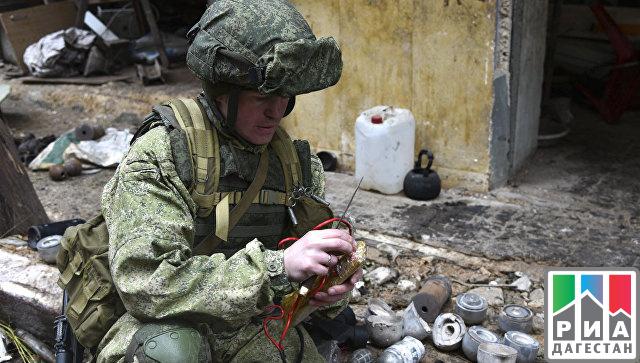 Минобороны Российской Федерации опубликовало видео коДню инженерных войск