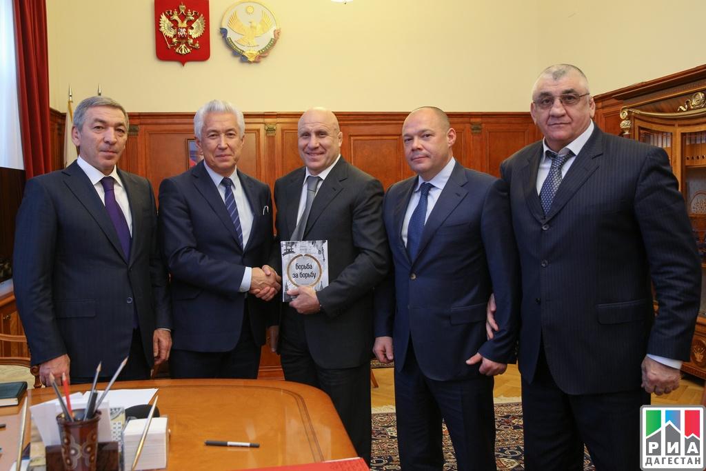 Владимир Васильев встретился спрезидентом Федерации спортивной борьбы РФ
