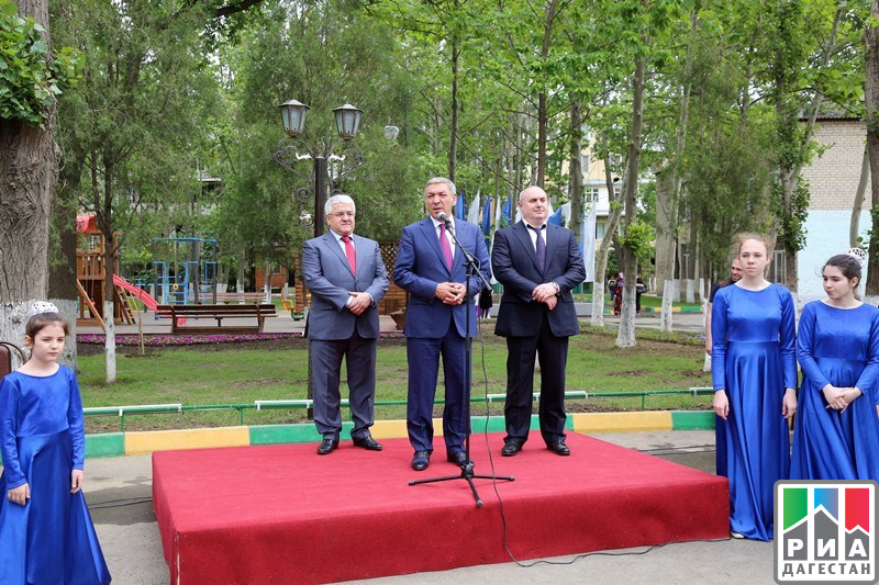 ВМахачкале открыли улучшенный сквер имени Халилова