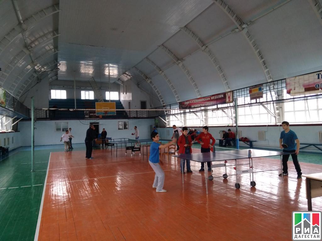Марафон понастольному теннису стартует вМахачкале