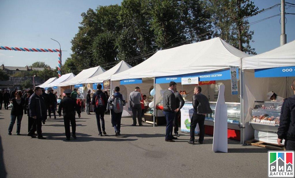 Сельхозпроизводители изДагестана представили свою продукцию наЯрмарке брендов «Сделано наКавказе»