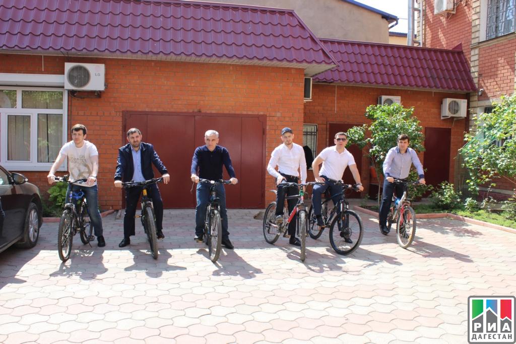 Дагестанцы поддержали акцию «Наработу навелосипеде»
