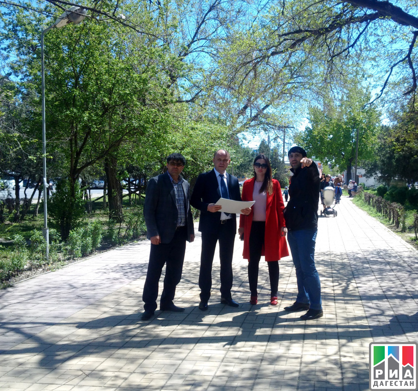 ВМахачкале обустроят аллею врамках проекта минтуризма Дагестана «Город мастеров»
