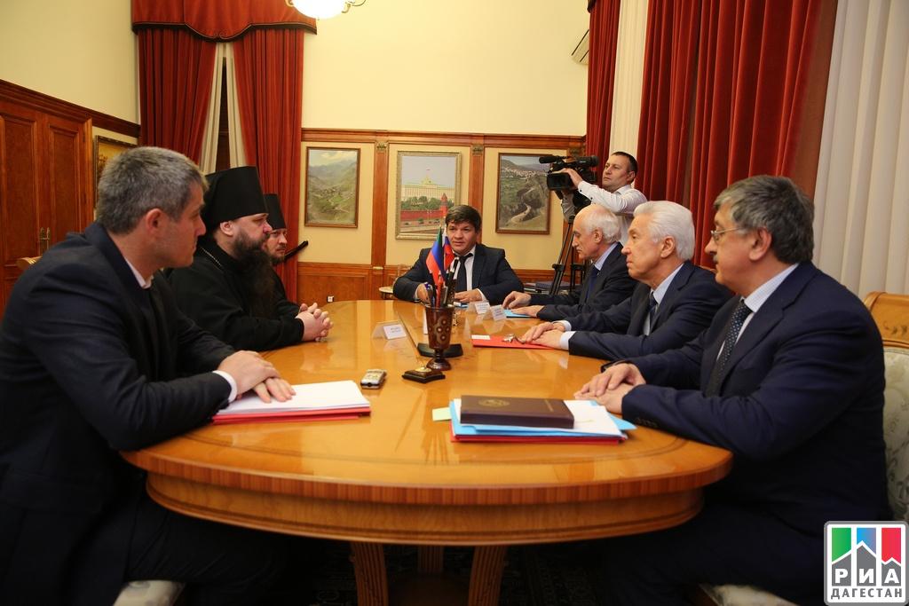 Врио руководителя региона провел встречу смуфтием Дагестана