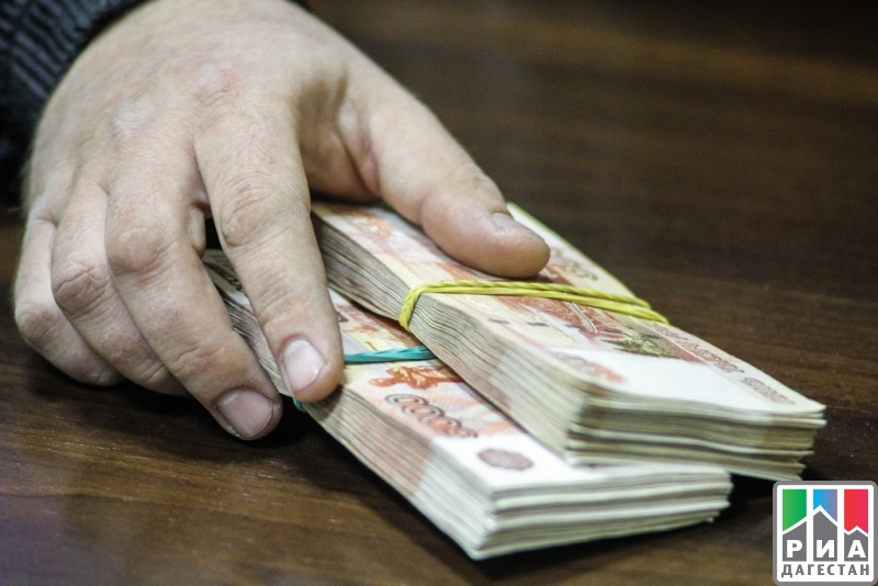 ВДагестане зампрокурора задержали свзяткой в 100 000 руб.