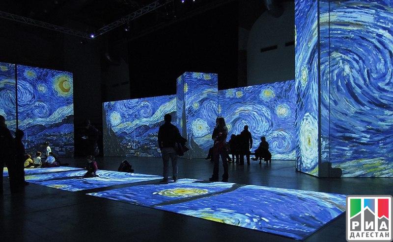 Живые полотна Ван Гога покажут вМахачкале