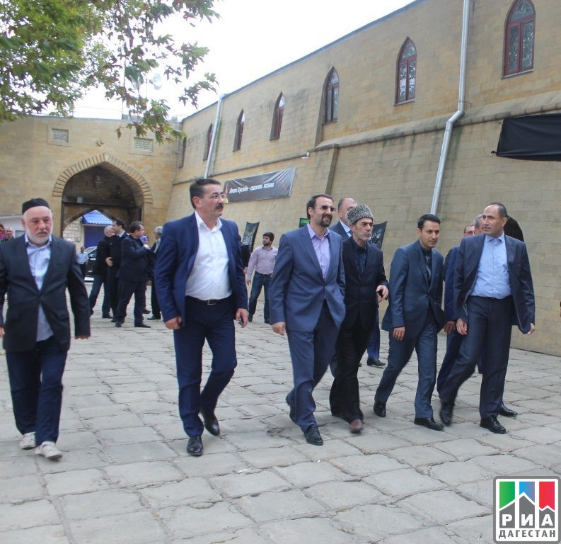 Дербент срабочим визитом посетил посол Ирана Мехди Санаи
