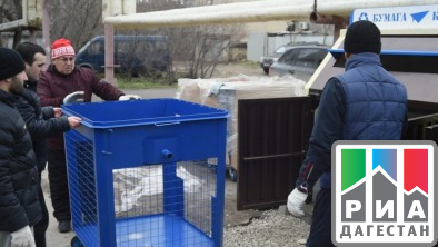ДАГЕСТАН. Регоператоры по сбору ТКО продолжают наладку работы в Дагестане