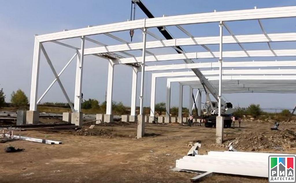 Завод попроизводству концентрата сока изфруктов ивинограда строят вДагестане
