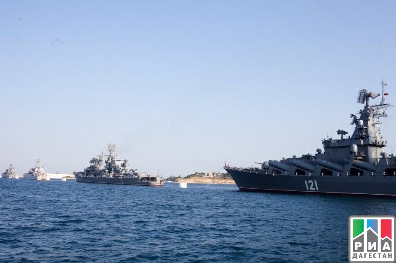 Иранские боевые корабли прибыли вМахачкалу