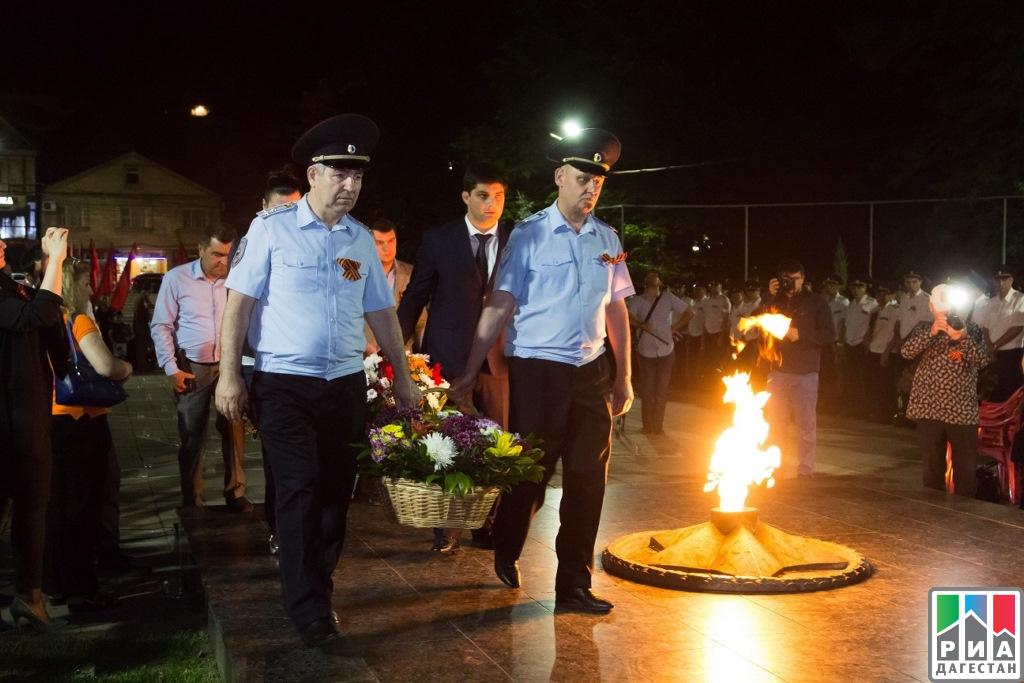 Вмахачкалинском парке прошла акция «Свеча памяти»