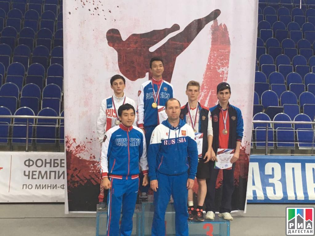 Дагестанский тхэквондист Булат Магомедов завоевал путевку настуденческий чемпионат Европы