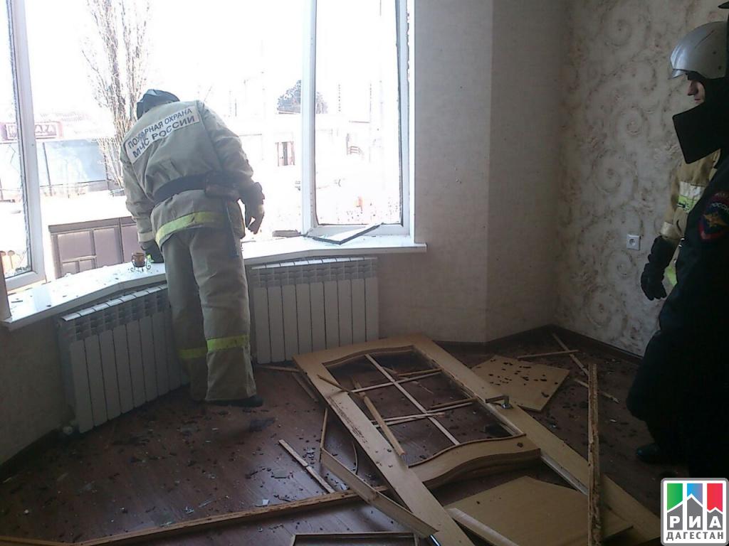 ВМахачкале произошел взрыв бытового газа: один человек пострадал