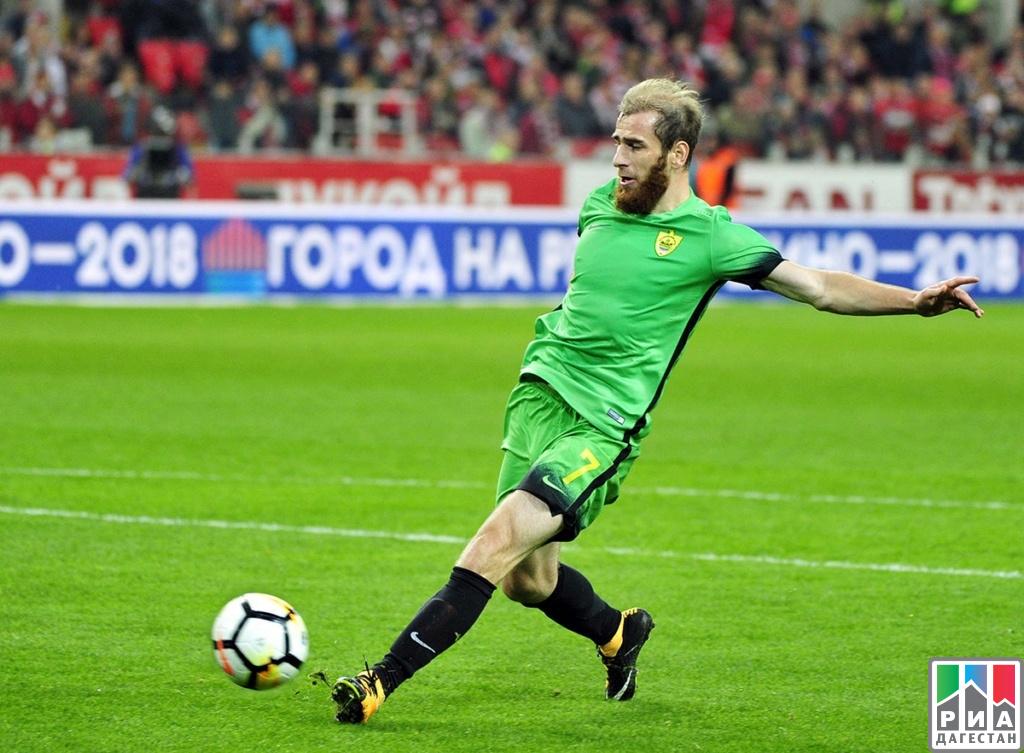 Экс-полузащитник «Ахмата» Кацаев подписал договор с«Анжи»