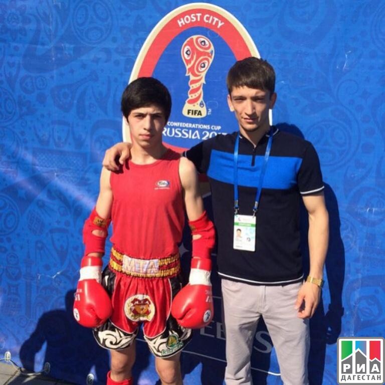 Чарак Муртузалиев принес Российской Федерации серебряную медаль чемпионата Европы
