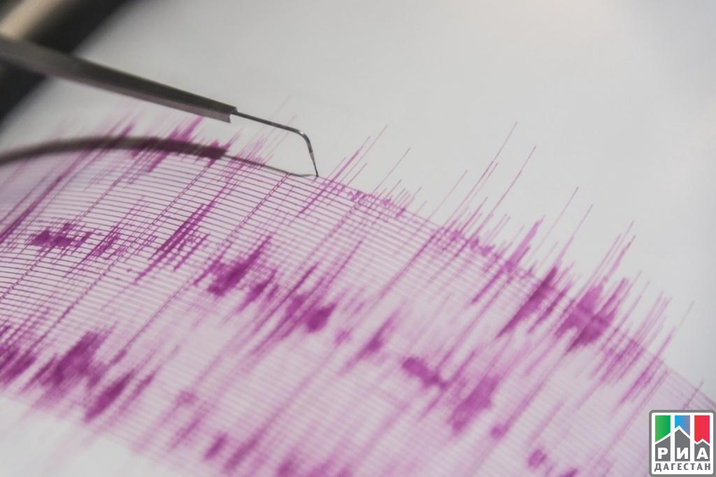 Землетрясение магнитудой 4,9 случилось вДагестане