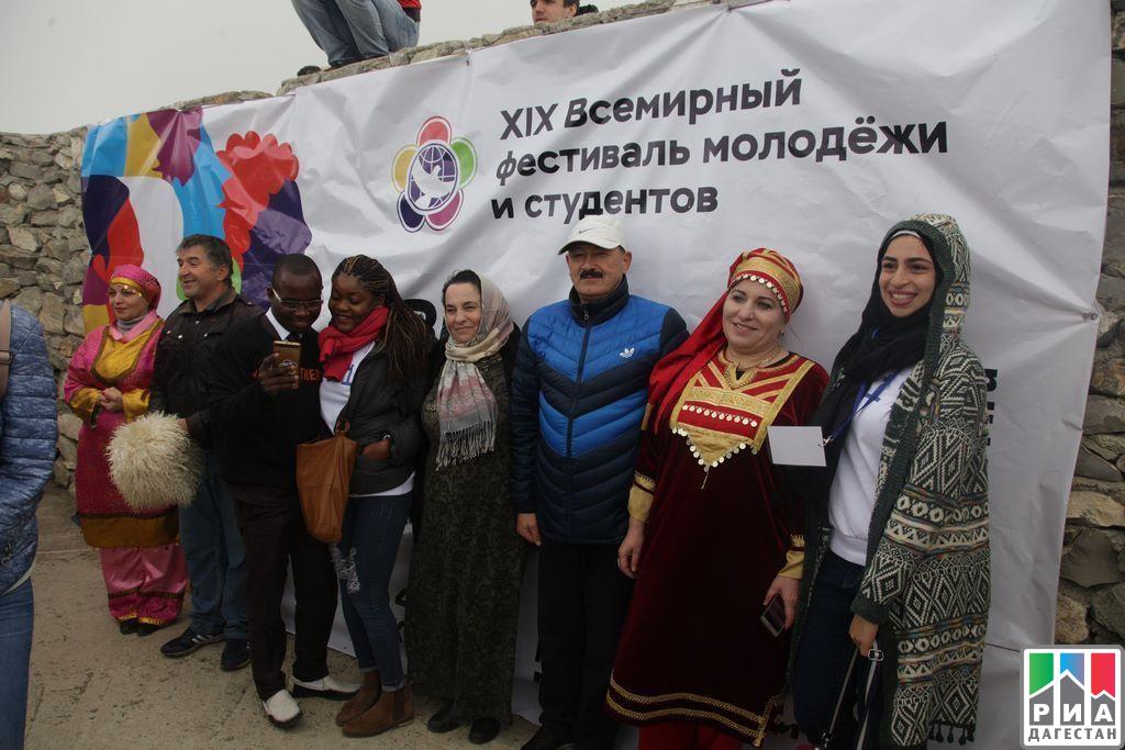 ВДагестан прибыла зарубежная делегация участников XIX Всемирного фестиваля молодежи истудентов