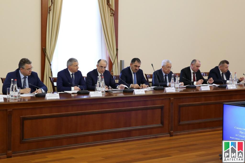 Губернатор Ставрополья поучаствовал ввыездном совещании СовбезаРФ