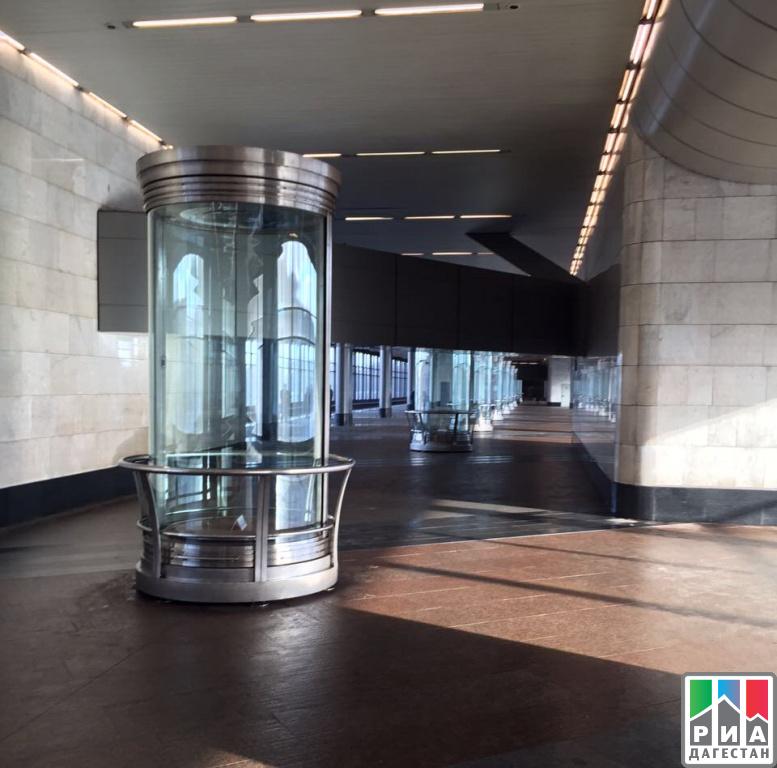 Настанции метро «Воробьевы горы» в российской столице открылась выставка промыслов Дагестана