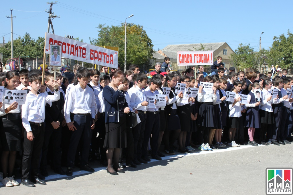 ВСергокале увековечили память Героя Российской Федерации Магомеда Нурбагандова