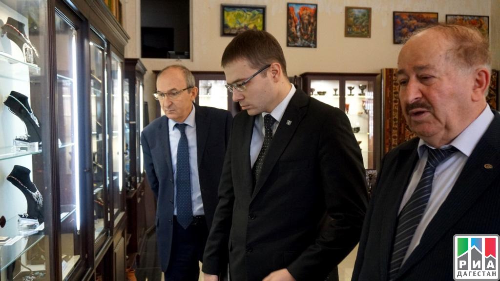 ВДагестан срабочим визитом прибыл Президент Татарстана Рустам Минниханов