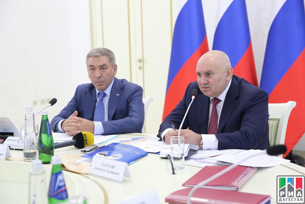 Джамбулат Хатуов посетил срабочим визитом республику Дагестан