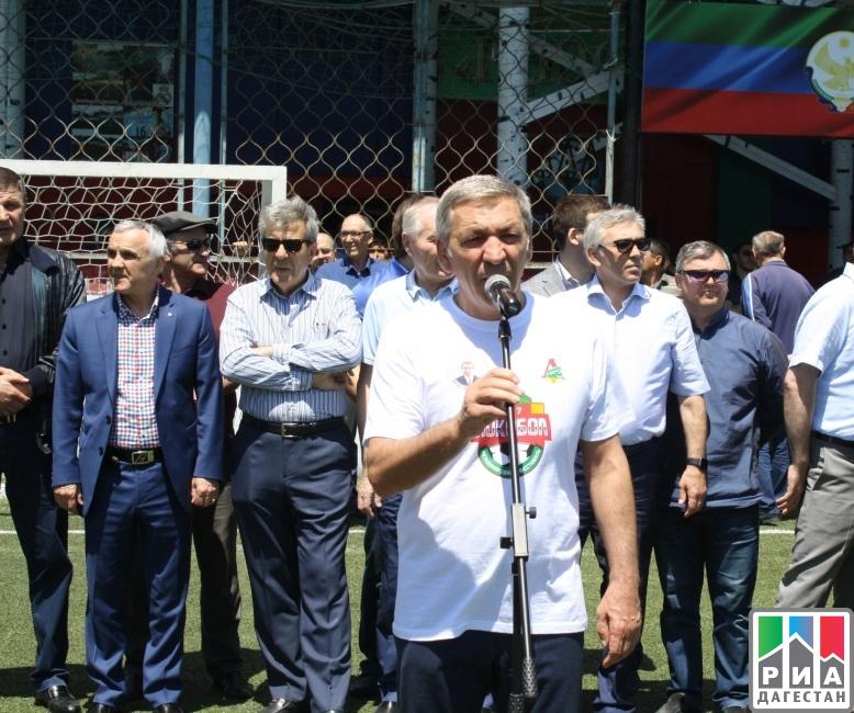 Абдусамад Гамидов принял участие вцеремонии закрытия футбольного турнира «Локобол»