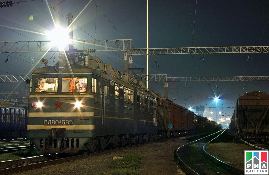 Планируется восстановить ночное движение поездов дальнего следования вДагестане