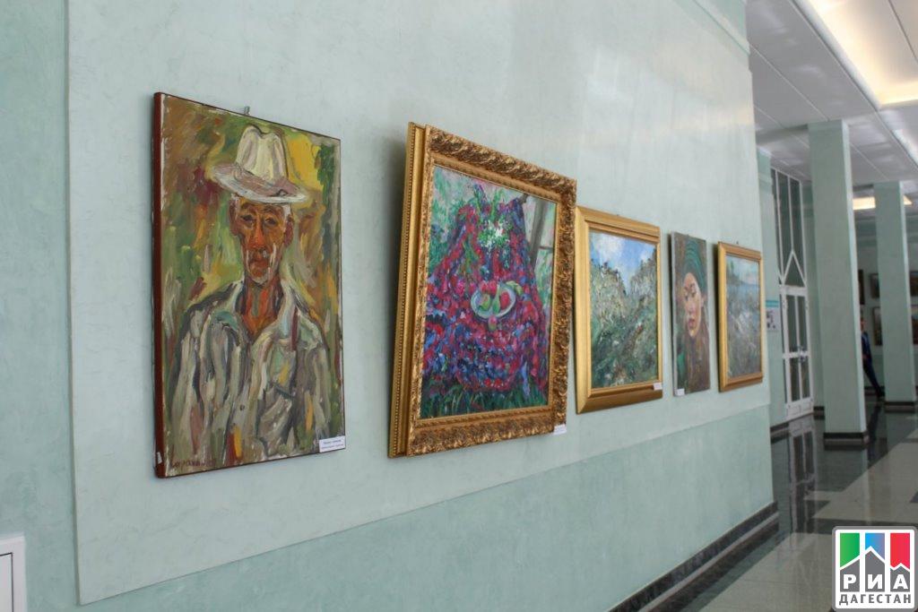 В госдуме Российской Федерации состоялось открытие выставки работ дагестанских живописцев
