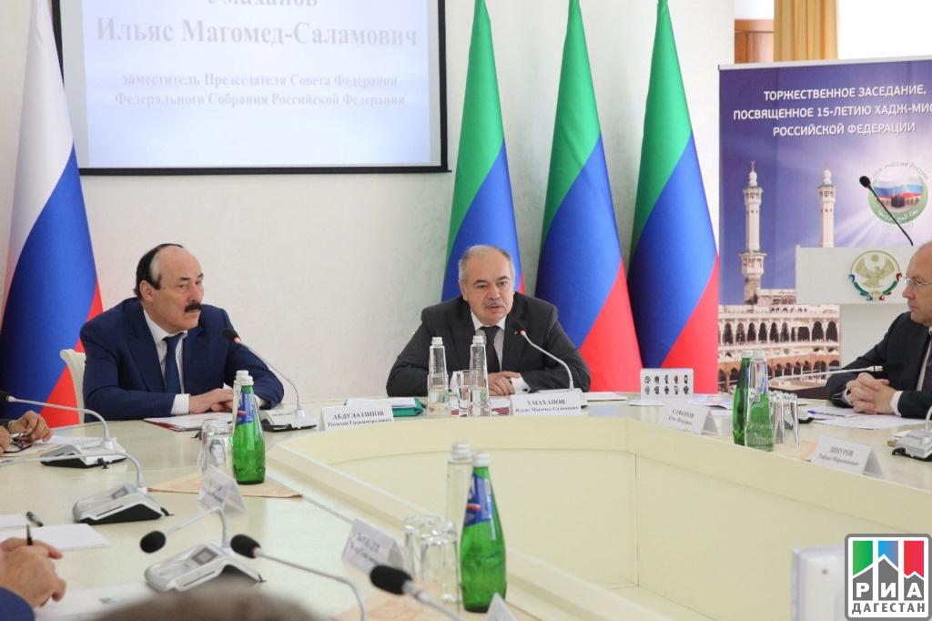 Малик Баглиев встретился сПослом Королевства Саудовская Аравия в РФ